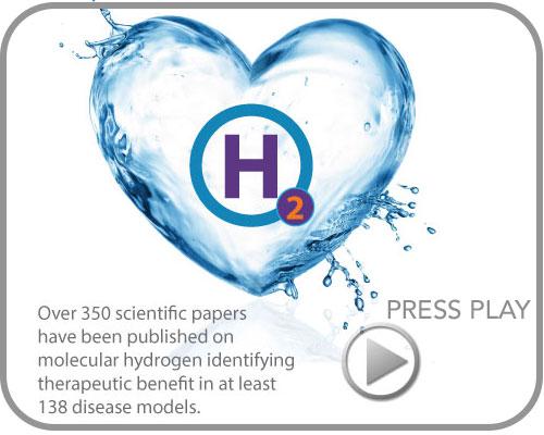 pure hydrogen water